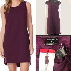32 Degrees Cool Dress Burgundy Space Dye Medium